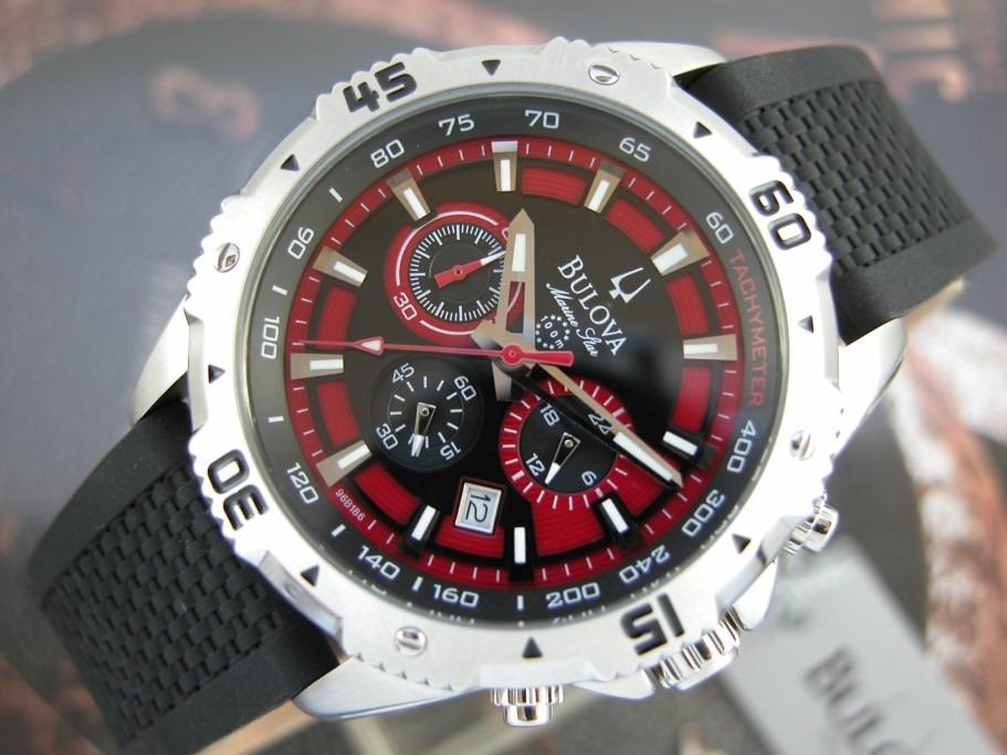 8bc6515e551 TimeMob  Relógio Bulova Marine Star 96B186 R 674