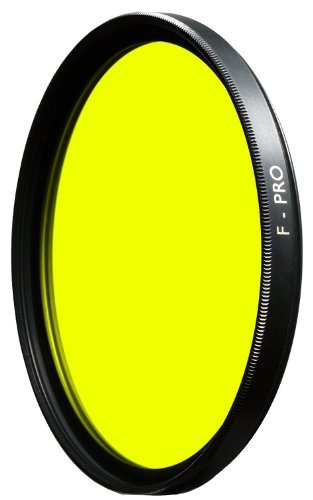 b + w 46mm amarillo contraste de lente de cámara filtro con