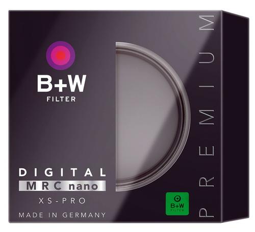 b + w 58mm xs-pro clear con revestimiento nano multiresisten