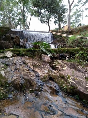 b01 lotes de 1000m² c/ lago de pesca e prox a cachoeira