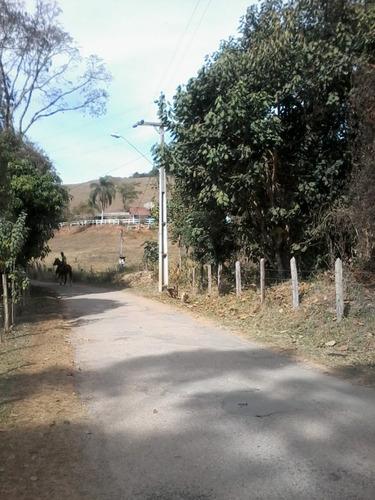b01 terreno de 2000m² c/ otimo acesso todo asfaltado