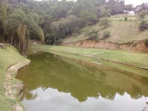 b01 terrenos de 1000m² em guararema prox a lago p/ pesca