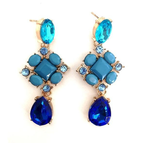 b0122 - brinco vindemiatrix - maxi brinco azul lindo