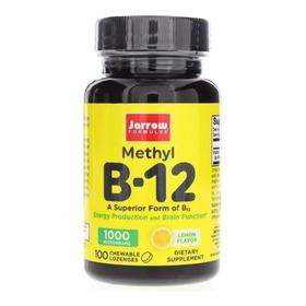 B12 Metilcobalamina Sublingual 1000 Mcg - 100 Pastillas