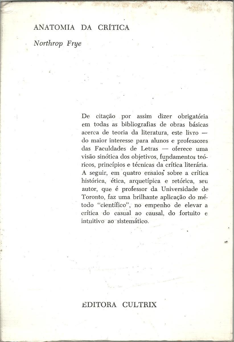 Increíble Frye Anatomía De La Crítica Molde - Imágenes de Anatomía ...