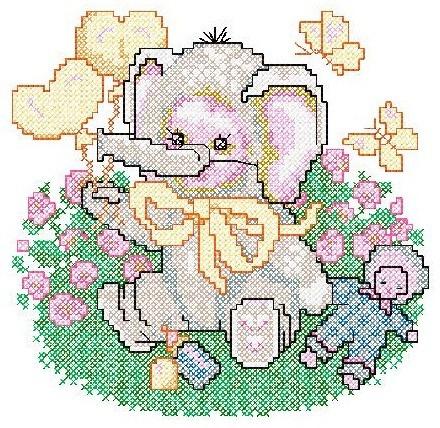 b16 coleção bordados computadorizados animais ponto cruz