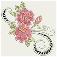b216 coleção bordados computadorizados flores lindas cutwork
