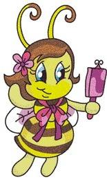 b28 coleção bordados computadorizados abelhas .pes .jef