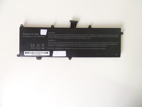 b40 bateria 7.4v 4400mah notebook asus s200e ct173h