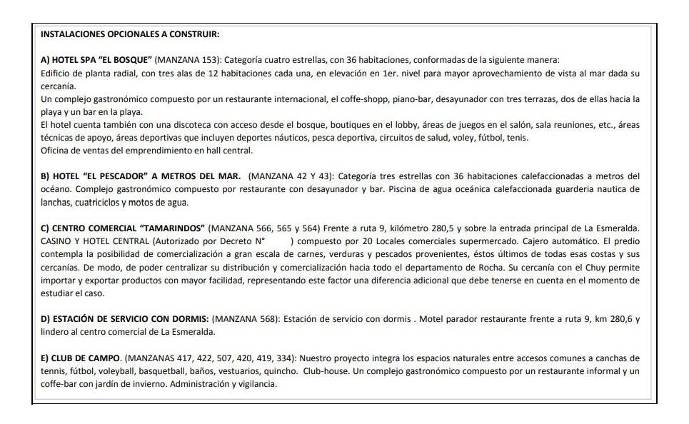 b539 solares en uruguay - la esmeralda - depto de rocha