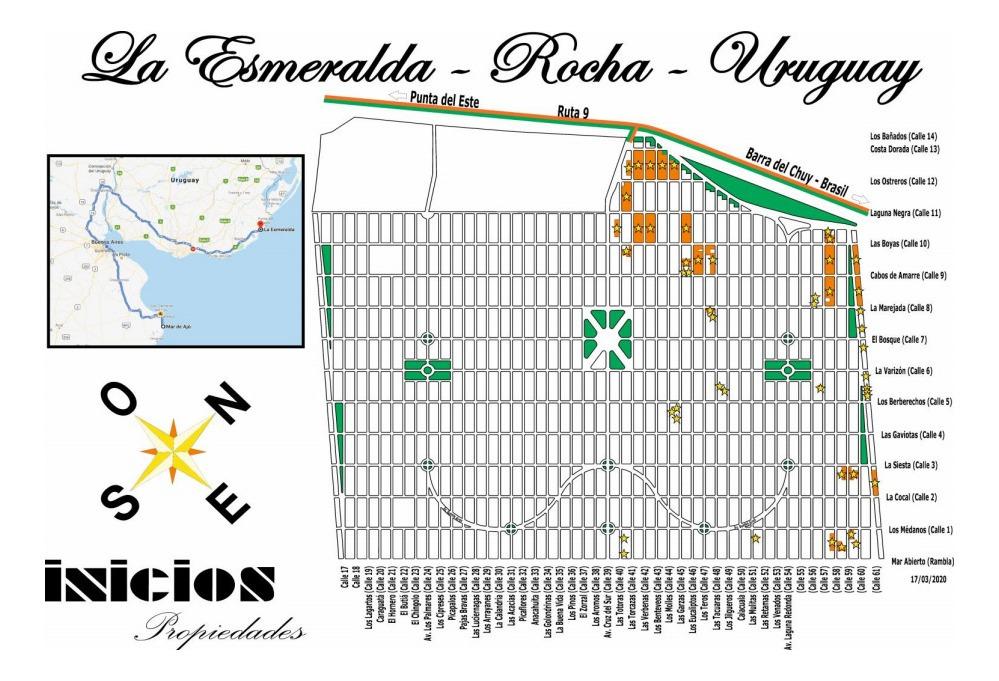 b545 solares en uruguay - la esmeralda - dpto de rocha