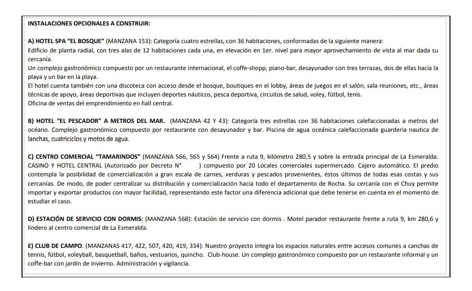 b550 solares en uruguay - la esmeralda - dpto de rocha