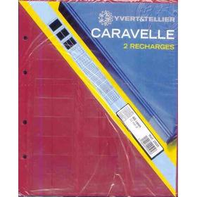 B5953  Folhas De Album Para Moedas Frances, Yvert&tellier, M