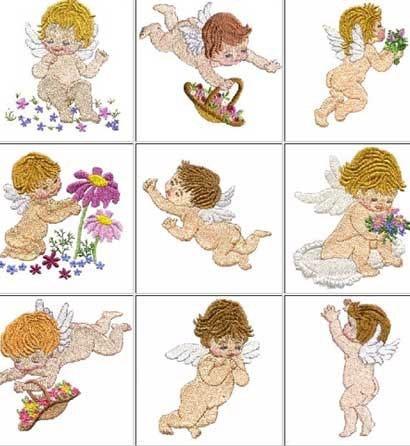 b646  coleção bordados computadorizados lindos bebes baby