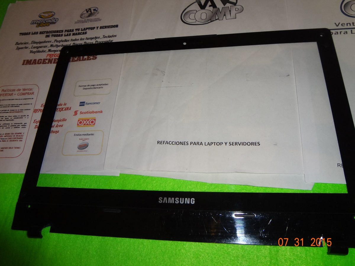 Ba75 02662a Samsung Qx410 Np Qx410 Series Lcd Bisel Y