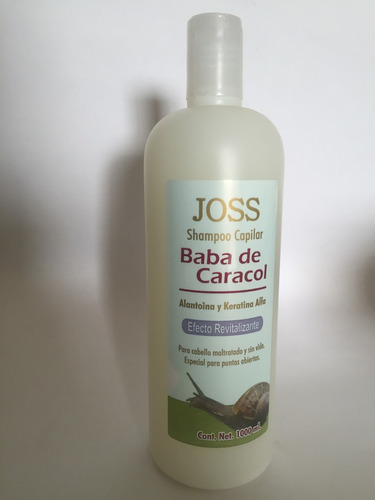baba de caracol shampoo 1 litro