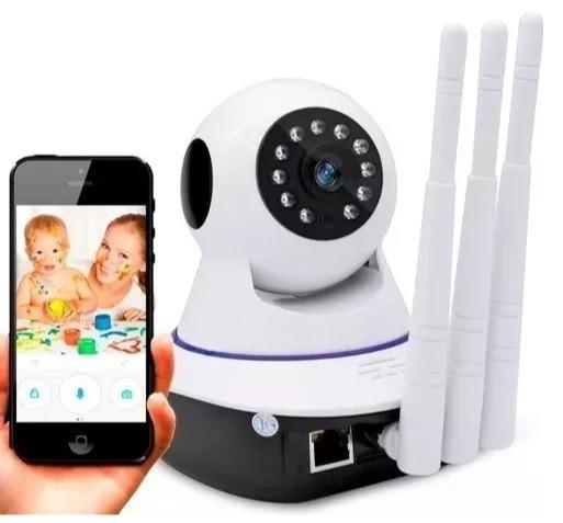 Baba Eletronica Com Camera Sem Fio Á Distancia Wifi Celular