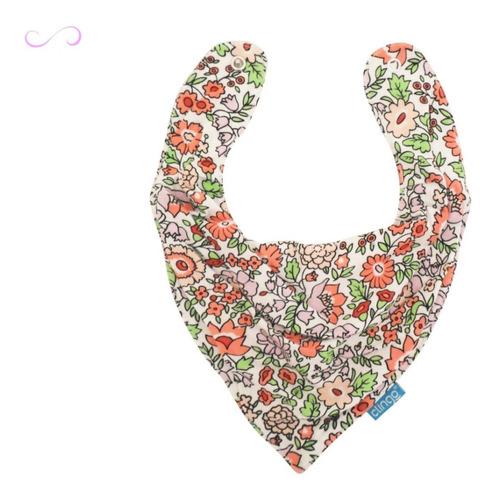babador bandana fashion impermeável algodão menina envio 24h