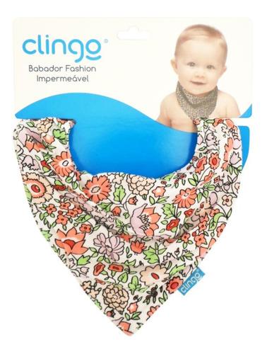 babador bandana para bebê fashion impermeável algodão clingo