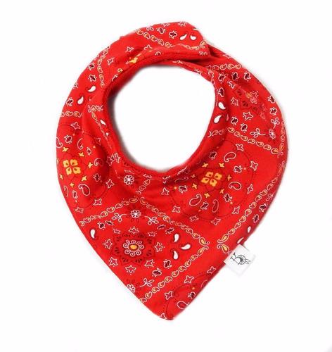 babador bandana vermelho