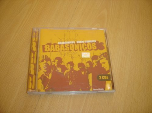 babasonicos obras cumbres cd doble rock nacional dargelos