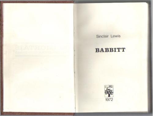 babbitt - sinclair lewis - ed. abril cultural - frete grátis