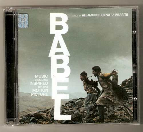 babel cd soundtrack album doble