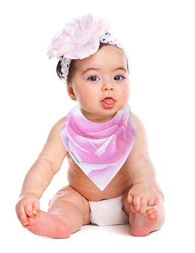 babero bandana capa interior impermeable bebés colores 7 un