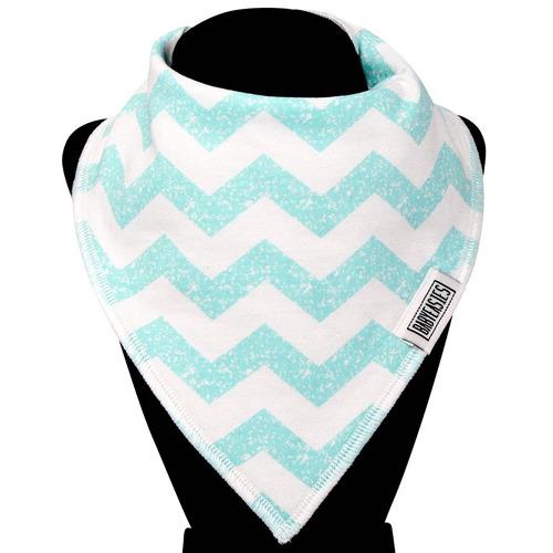 babero bandana capa interior impermeable bebés colores x 6