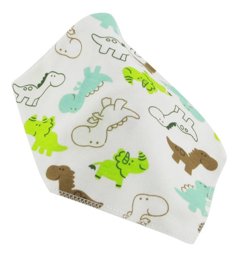 babero bandana tela con diseño flaber