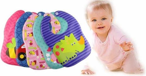 babero eva impermeable para bebes varios diseños mf shop