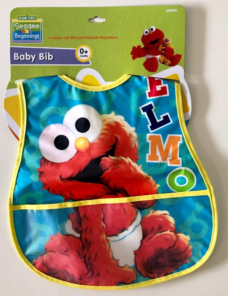 Bebe Plaza Indonesia Fashion Week 2014: Plaza Sésamo Babero Baby Elmo Grande Para Bebé