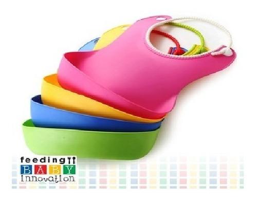 babero silicona baby innovation cuello ajustable