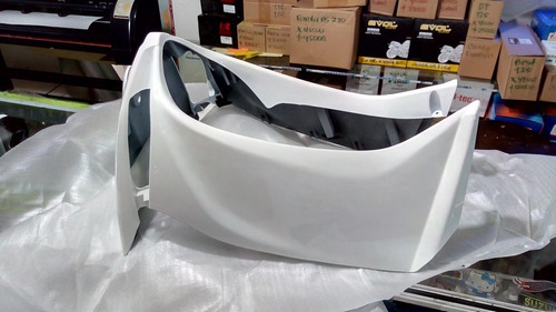 babero yamaha crypton 115 nuevo color blanco