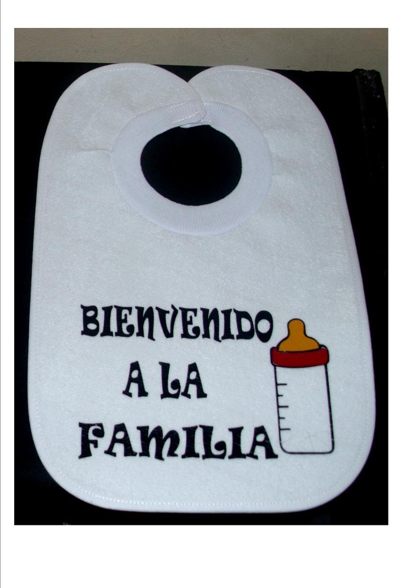 Baberos Con Frases Para Bebe Personalizados