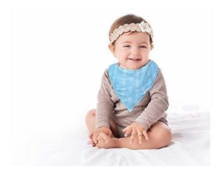 baberosamour baby baby bandana bib para drooling, super abso