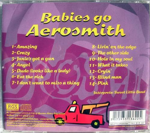 babies go aerosmith - cd