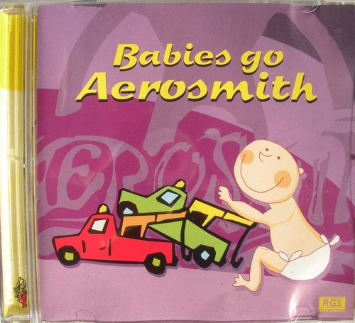 babies go aerosmith - sweet little band - cd nacional