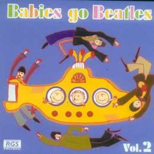 babies go babies go beatles vol 2 cd nuevo