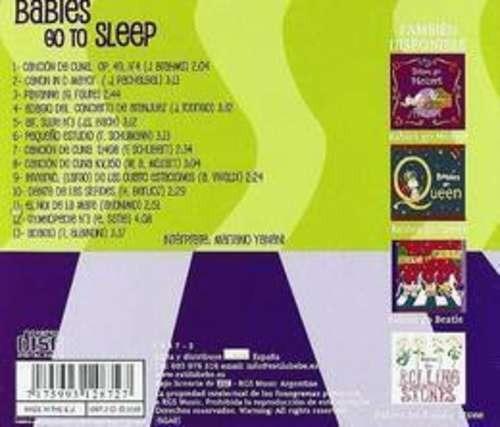 babies go babies go to sleep cd nuevo