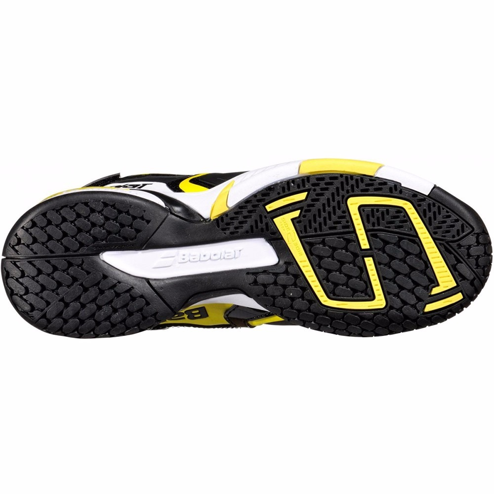 Niño 5 Talle 38 Babolat Tenis 4 6 Zapatillas Junior Propulse Nw80vmn