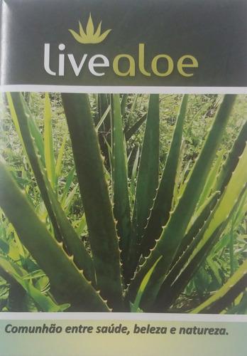 babosa aloe vera catalogo produtos live aloe em pdf