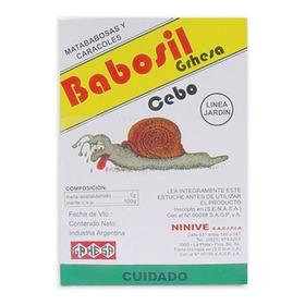 Babosil Cebo X200 Grs. Vivero La Casita