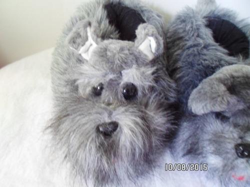 babucha con figura de perro