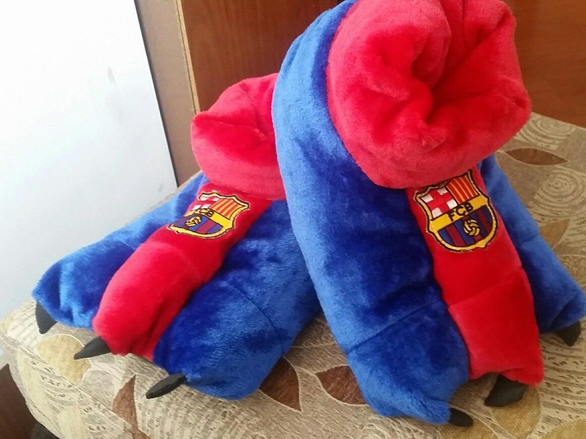 7dad4f534d875 Babuchas Barcelona Futbol Talla Grande -   33.000 en Mercado Libre