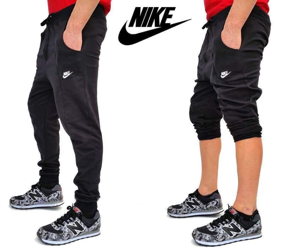 pantalones nike hombre gris