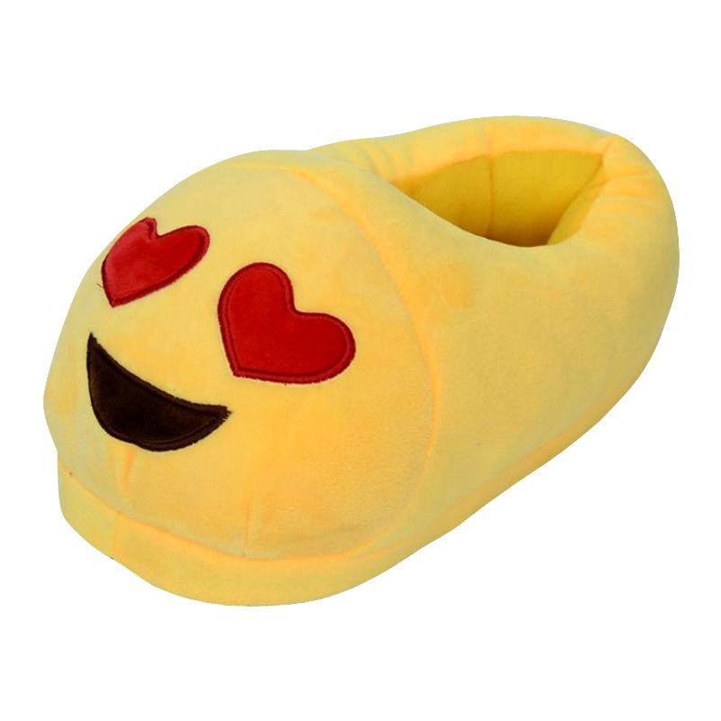 babuchas emoticon carita enamorada unisex adulto kids niños