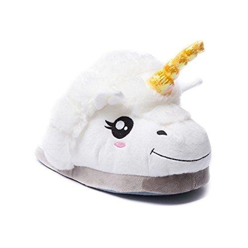 babuchas / pantuflas unicornio