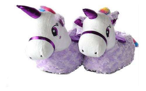babuchas pantuflas unicornio