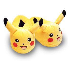 Babuchas Pikachu Pantuflas Alta Calidad Pokemon